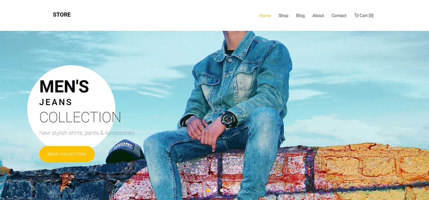 Store -‌ ‌‌Free‌ ‌Fashion eCommerce Website Template‌ | HTML5‌ ‌Bootstrap‌ 3