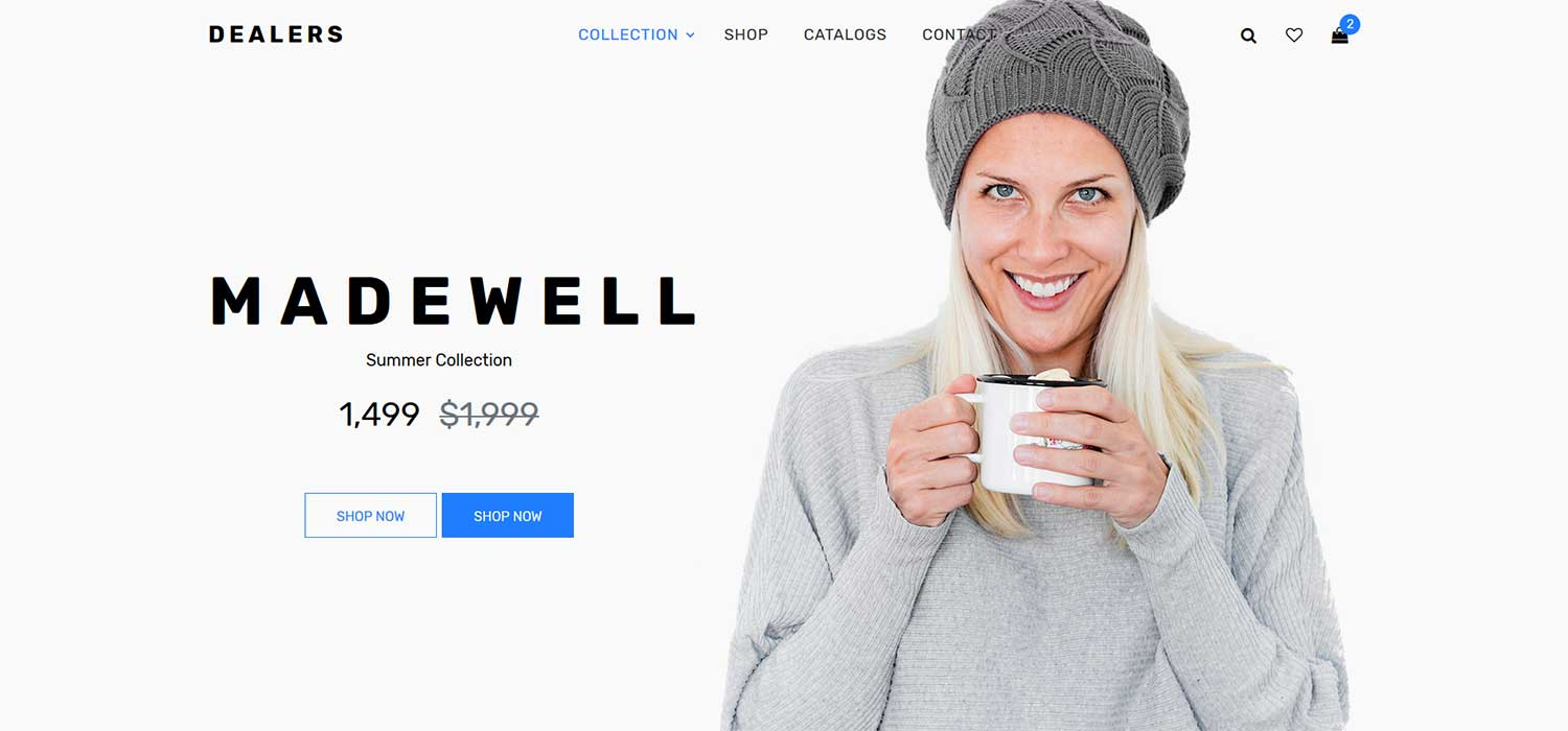 Dealers -‌ ‌‌Free‌ ‌Fashion ‌eCommerce Template‌ | HTML5‌ ‌Bootstrap‌ 4