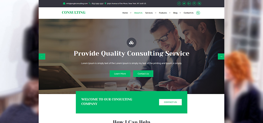 Consulting Services Home Page