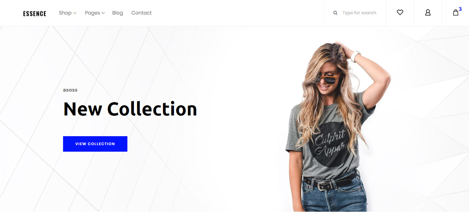 Essence - eCommerce Website Template